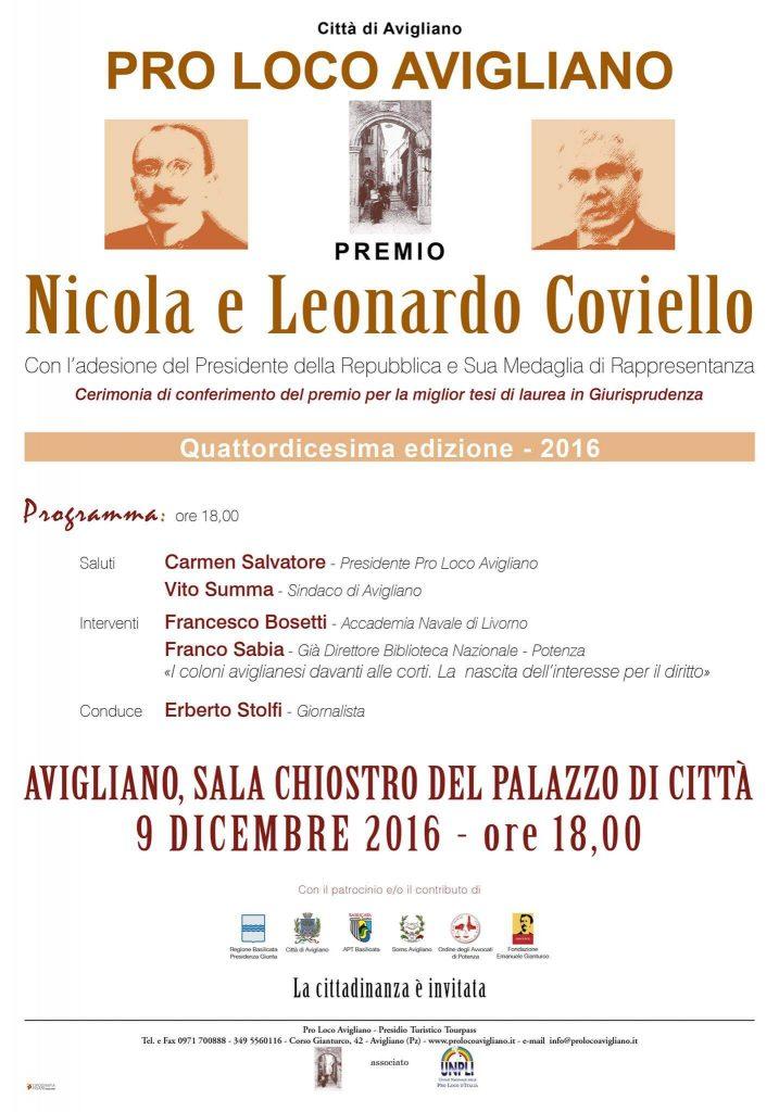 Premio Coviello 2016